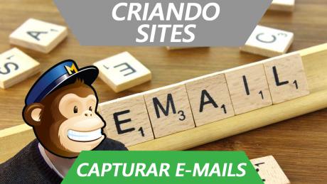 Como Capturar Emails Grátis (Criar uma lista no Mailchimp)