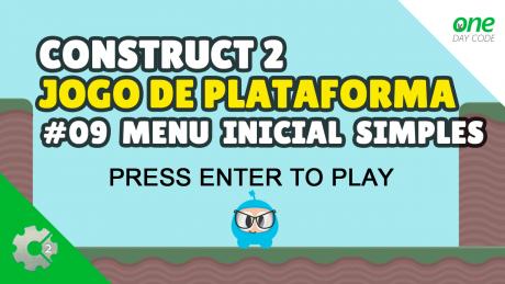 Construct 2 - Menu Inicial Tutorial