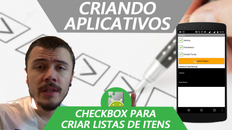 MIT App Inventor Português - Checkbox e ListView