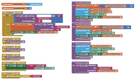 MIT App Inventor Listas Com Tiny DB
