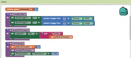MIT App Inventor Português - Canvas, Sprites e Timer - One Day Code